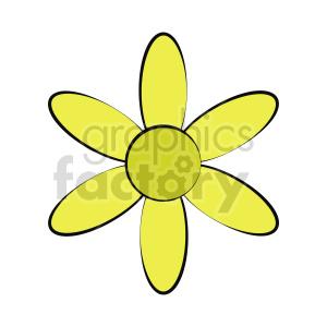 clipart - flower vector clipart 8.