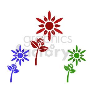flower bundle vector design 4 clipart. Commercial use image # 415788