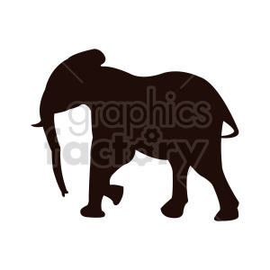 elephant vector design clipart. Commercial use image # 415960