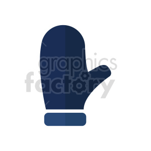 mitten vector clipart clipart. Commercial use image # 415980