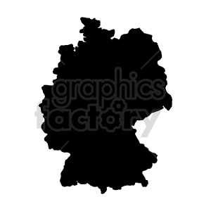 clipart - germany black vector clipart.