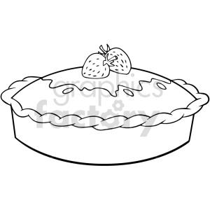food pie dessert black+white