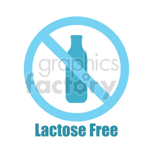 lactose free symbol vector clipart clipart. Commercial use image # 416214