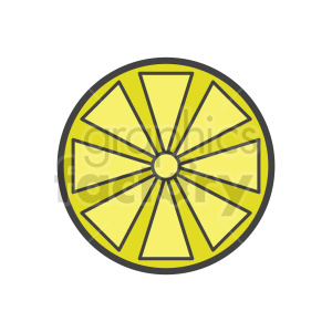 lemon vector icon clipart. Commercial use image # 416239