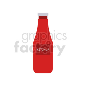 ketchup vector clipart clipart. Commercial use image # 416244