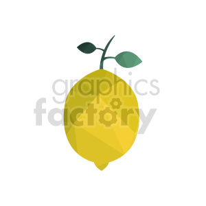 lemon vector graphic clipart. Commercial use image # 416245