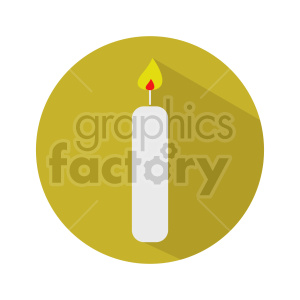 candle vector design clipart. Commercial use image # 416279