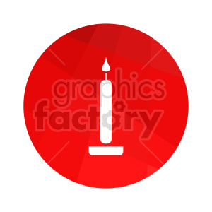 candle vector icon clipart. Commercial use image # 416287