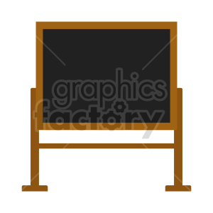 reversible chalkboard vector clipart clipart. Commercial use image # 416409