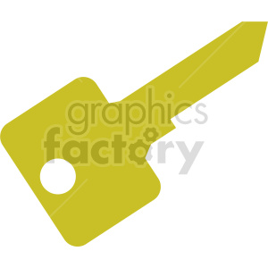 blank key vector icon clipart. Commercial use image # 416439