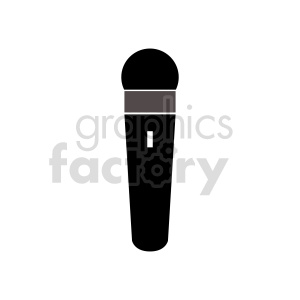 microphone vector clipart clipart. Commercial use image # 416443