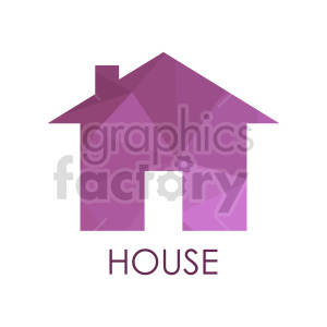 house vector icon clipart. Commercial use image # 416523