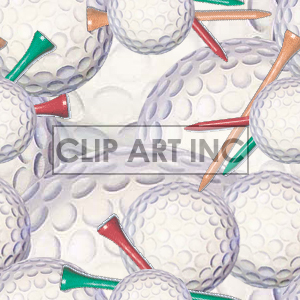 Golf ball tiled background background. Royalty-free background # 128146
