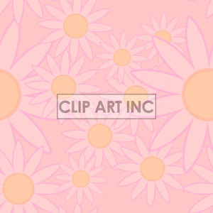 light pink tiled flower background clipart. Commercial use image # 128196