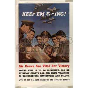 war posters world II   MPW00092 Clip Art Old War Posters