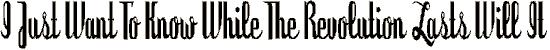 dyspepsia font. Royalty-free font # 174566