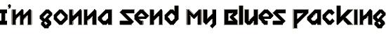 relish_gargler font. Royalty-free font # 174666