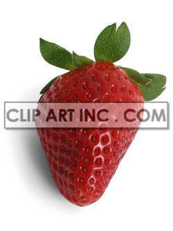 Strawberry  clipart. Royalty-free image # 176924