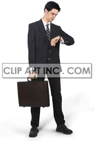 businessman ambition career professional corporate suit male man businessperson watch time appointment meeting briefcase business  Photos People