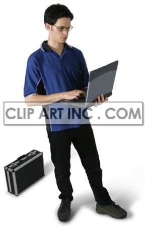 teenager boy laptop computer youth technology mobility student notebook smiling learning working  Photos People
