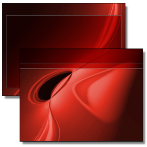 red Powerpoint template background. Royalty-free background # 178062