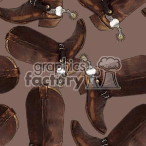 100806-cowboy boots clipart. Commercial use image # 372174