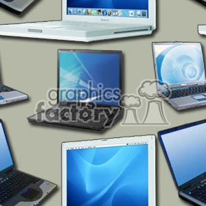 100806-laptop-light background. Royalty-free background # 372202