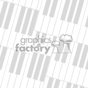 103106 piano keys-light clipart. Royalty-free image # 372212