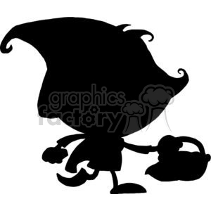Silhouette Little Red Riding Hood