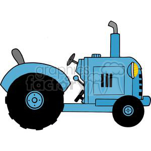 cartoon funny comical comic vector tractor tractors