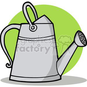Watering Can clipart. Royalty-free image # 379640