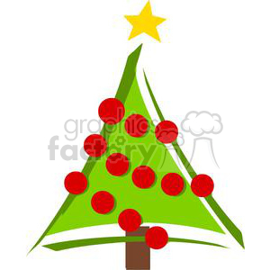 Christmas Tree clipart. Commercial use image # 379710