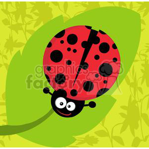 2635-Royalty-Free-Ladybug-Cartoon-Character clipart. Commercial use image # 379765