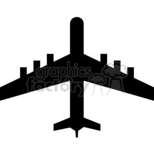 Airplane Silhouettes clipart. Royalty-free image # 379845