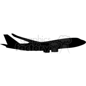cartoon funny comical vector vehicle black white vinyl-ready transportation airplane airplanes Silhouettes flying