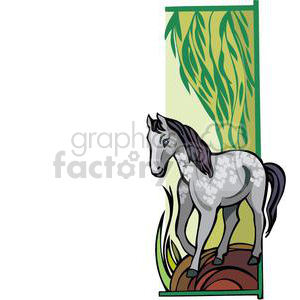 baby horse clipart. Royalty-free image # 380027