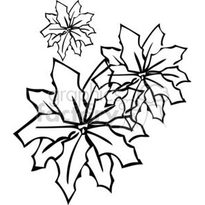 21-flowers-bw clipart. Royalty-free image # 380107