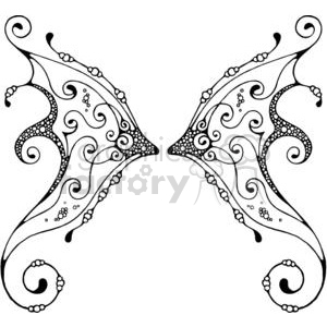 Fairy-Wing-Double-2 clipart. Commercial use image # 380167