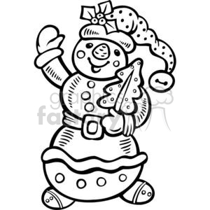 snowman clipart. Commercial use image # 381102
