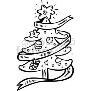 Christmas trees clipart. Commercial use image # 381147