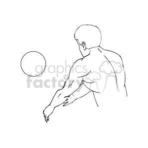 Sport194-bw clipart. Commercial use image # 381172