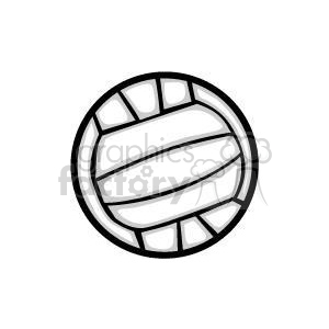 regular volleyball clipart. Royalty-free image # 381198