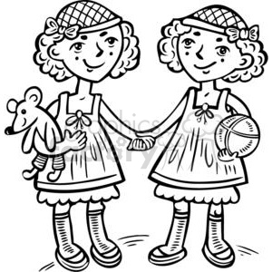 BFFs clipart. Commercial use image # 381578