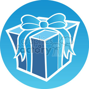 Christmas present icon clipart. Royalty-free image # 383682