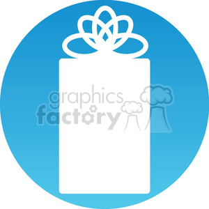Christmas gift icon clipart. Royalty-free image # 383712