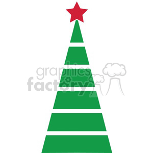 Christmas tree design clipart. Royalty-free image # 383742