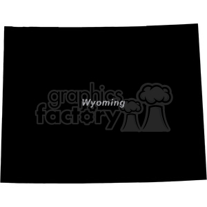 WY-Wyoming clipart. Royalty-free image # 383752