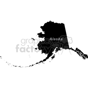 AK-Alaska clipart. Commercial use image # 383777