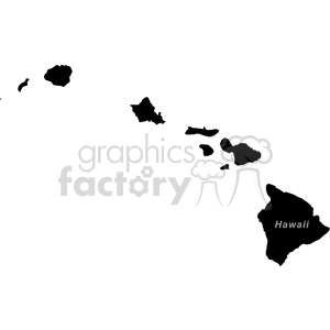 HI Hawaii clipart. Commercial use image # 383787