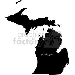 MI-Michigan clipart. Royalty-free image # 383792